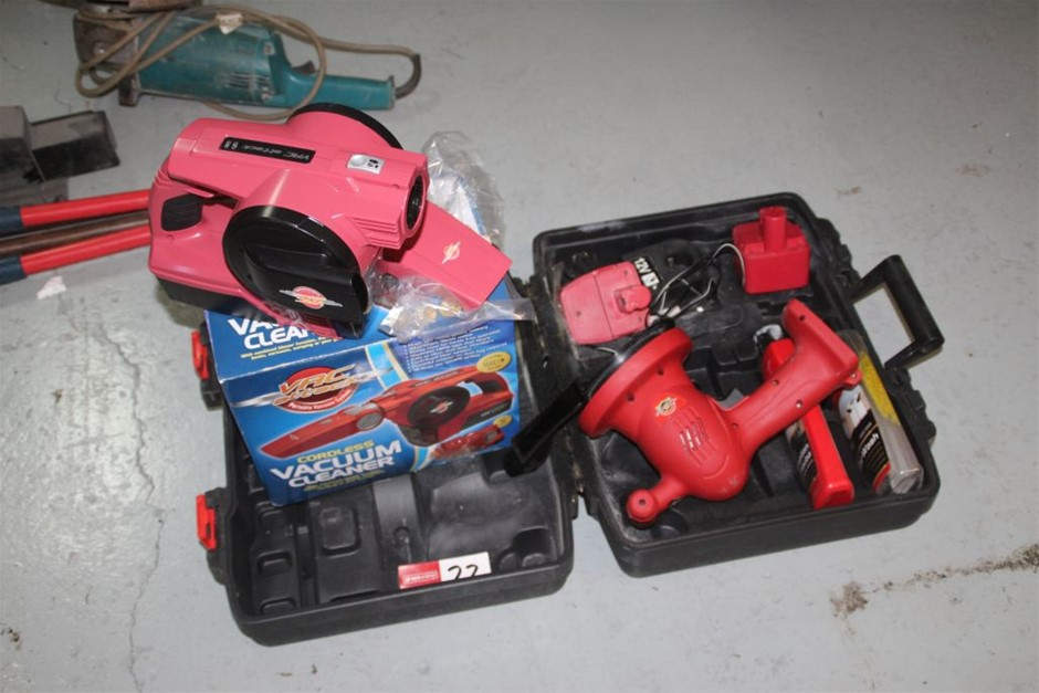 2x Assorted Cordless Power Hand Tools