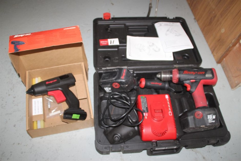 Snap-on Assorted Cordless Power Hand Tools