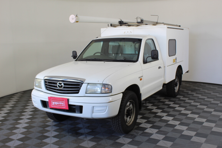 2003 Mazda B2500 Bravo DX (4x4) B2500 Turbo Diesel Manual Work Body Ute