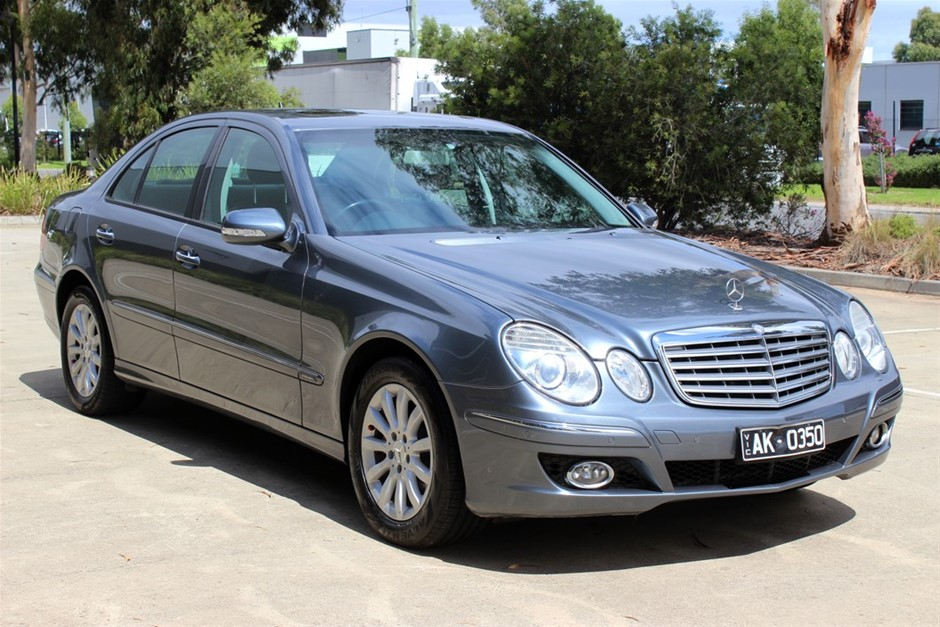 2008 Mercedes Benz E350 Elegance W211 MY08 RWD Automatic Sedan