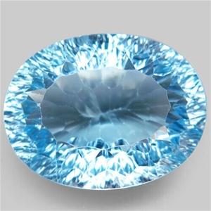21.72ct Baby Blue Topaz Brazil Millenniu