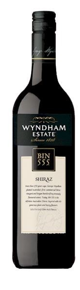 George Wyndham Bin 555 Shiraz 2018 (6 x 750mL), SE AUS.