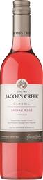 Jacobs Creek Classic Shiraz Rosé 2018 (12 x 750mL), SE, AUS.