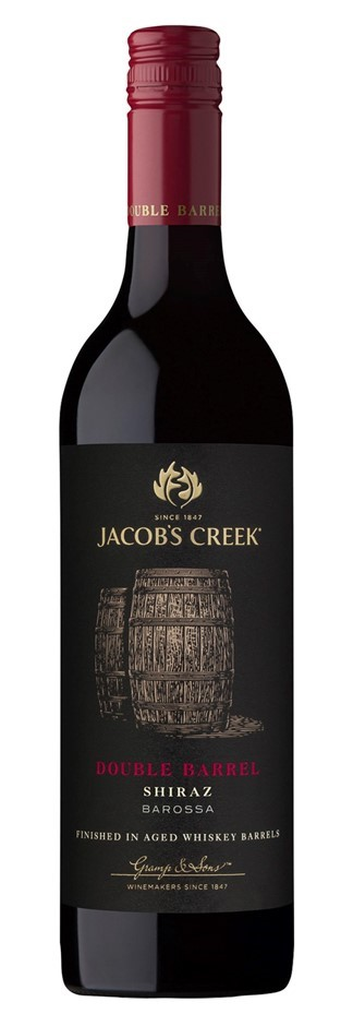 Jacobs Creek Double Barrel Shiraz 2017 (6 x 750mL), Barossa, SA.