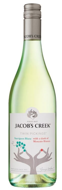 Jacobs Creek Twin Pickings Sauv Blanc Moscato Bianco 2019 (6 x 750mL)