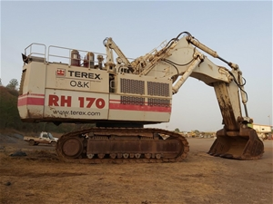 2007 Terex RH170 Hydraulic Excavator wit