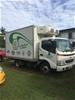 2001 Hino Dutro 6 x 2 Refrigerated Body Truck