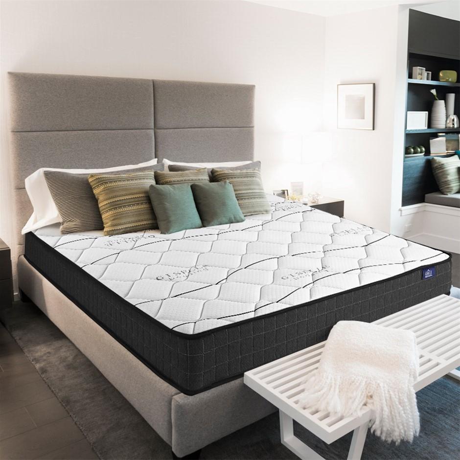 Giselle Bedding Double Mattress Bed Medium Firm Foam Bonnell Spring 16cm