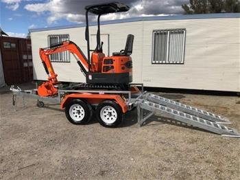 2019 Kobolt Mini Excavator Package