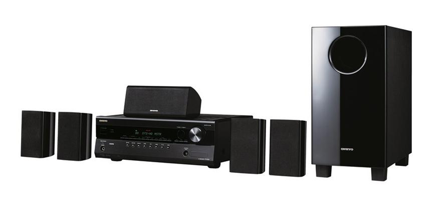Onkyo HT-S5305 5 1CH Home Cinema System (Black) (Refurbished)