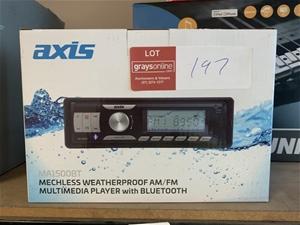 1 x Unused Axis Weatherproof Multimedia