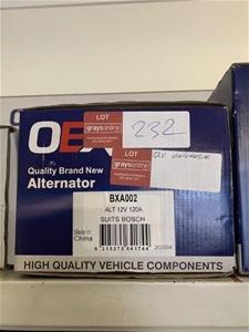 1 x Unused Alternator (OEX)