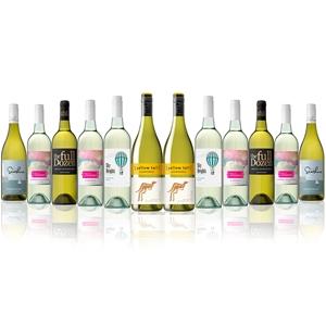 Mixed White Wine Dozen Feat. Yellow Tail