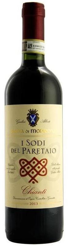 Badia Di Morrona Sodi Del Paretaio Chianti DOCG 2017 (6x 750mL). ITA.