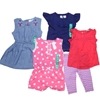 5 x CARTER`s Girl`s Clothing (2 sets), Size 18M, Assorted Colour & Patterns
