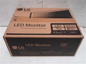 """LG 17MB15 17"""" Led Monitor"""