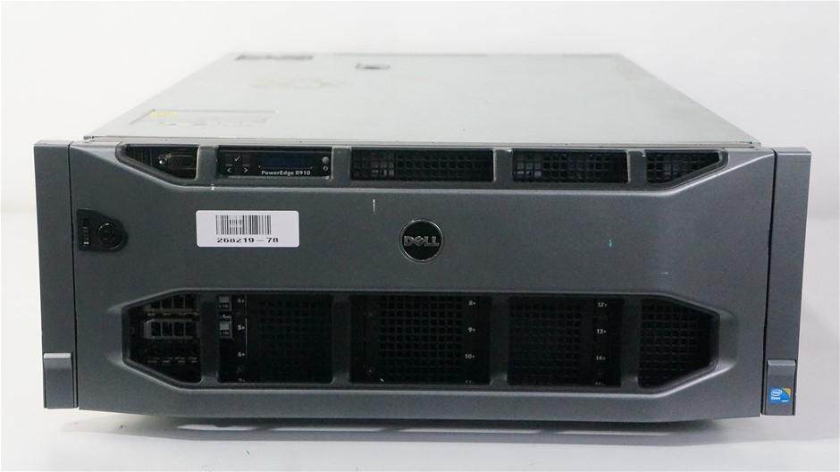 Dell PowerEdge R910 Rackmount Server