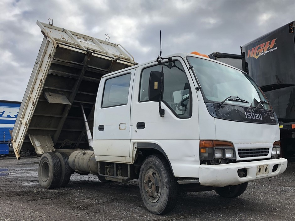 1998 Isuzu NPR 4 x 2 Tipper Truck