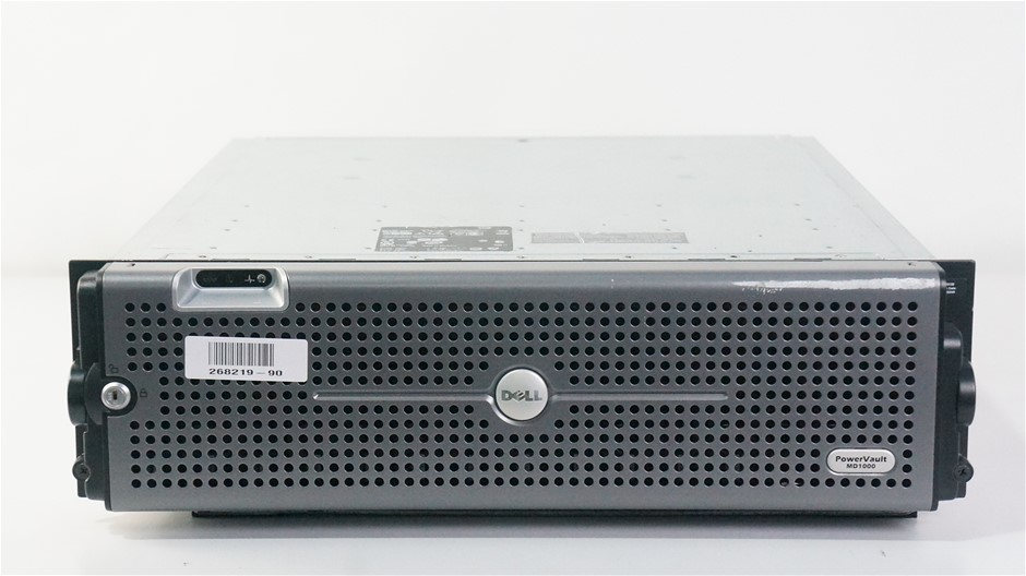 Dell PowerVault MD1000 15-Bay Storage Disk Array with 6TB Capacity