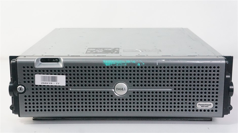 Dell PowerVault MD1000 15-Bay Storage Disk Array with 15TB Capacity