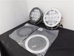 Qty 2 x Opposite Lock 220mm LED Spotligh
