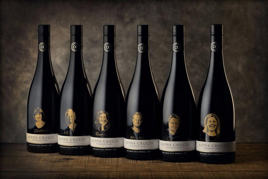 Alpha Crucis Winemakers Series 2015 (6x 750mL). McLaren Vale, SA