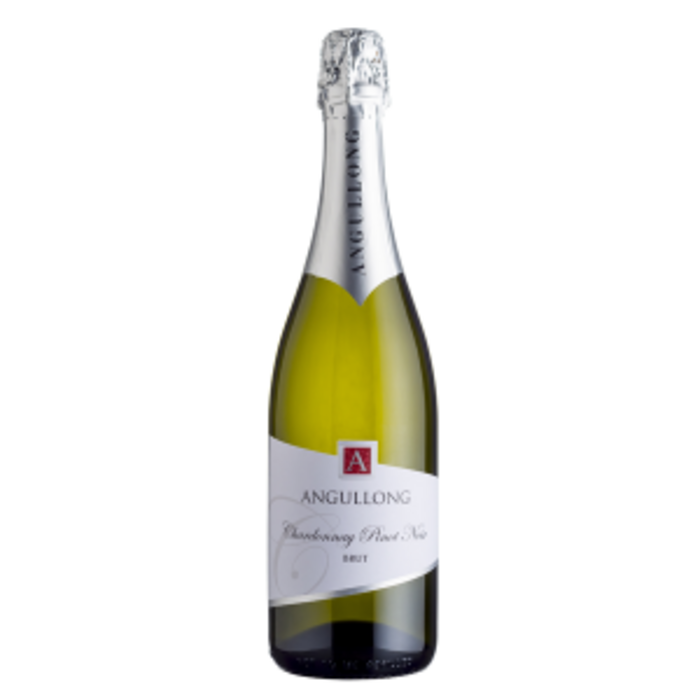 Angullong Chardonnay Pinot Brut NV (12x 750mL). Orange, NSW