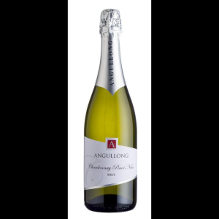 Angullong Chardonnay Pinot Brut NV (12x 750mL). Orange, NSW