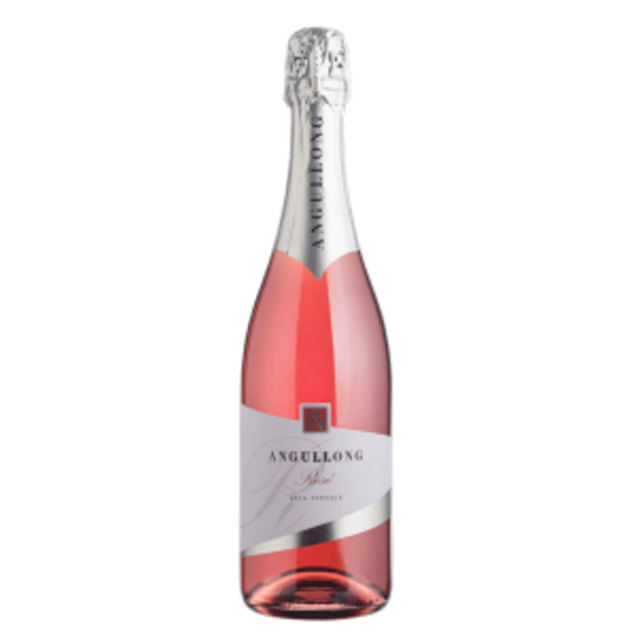 Angullong Sparkling Rose NV (12x 750mL). Orange, NSW