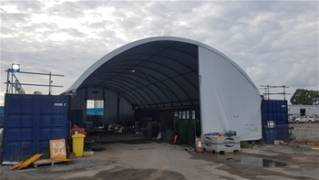 Allshelter Container Dome Shelter