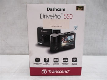 Transcend Drive Pro 550 Dashcam