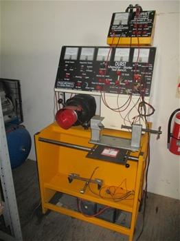 Durst 600 Deluxe Alternator-Starter Test Bench