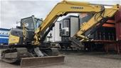 Yanmar VI080 Hydraulic Excavator, Trucks & More
