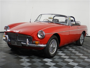 1971 MGB MK 2 Roadster Manual Coupe