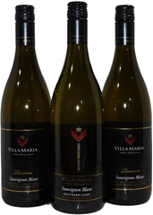 Villa Maria Mixed Marlborough Sauvignon Blanc 2018 (3x 750mL), NZ Screwcap