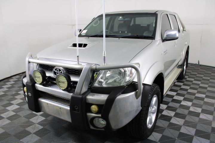 2010 Toyota Hilux SR5 4x4 Auto T/Diesel Dual Cab Ute