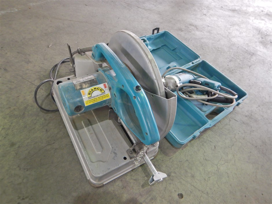 Makita Cut Off Saw & Drill (Pooraka, SA)