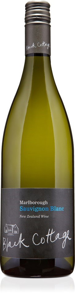 Black Cottage Sauvignon Blanc 2019 (12 x 750mL), Marlborough, NZ.
