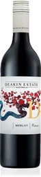 Deakin Estate Merlot 2019 (12 x 750mL), VIC.