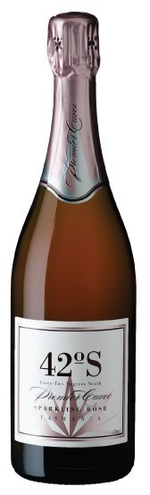 42 Degrees South Prem.Cuvee Sparkling Rose NV (6 x 750mL), TAS.