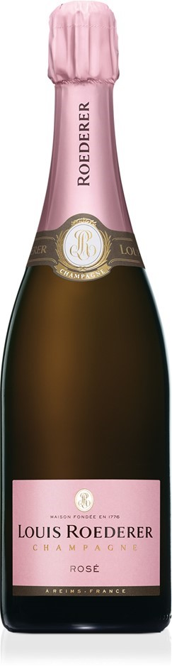 Louis Roederer Vintage Rose 2013 (6 x 750mL Graphic Gift Box), Champagne.