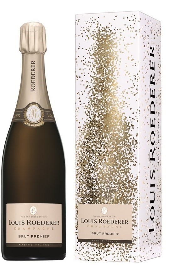 Louis Roederer Brut Premier NV (6 x 750mL Giftboxed), Champagne, France.