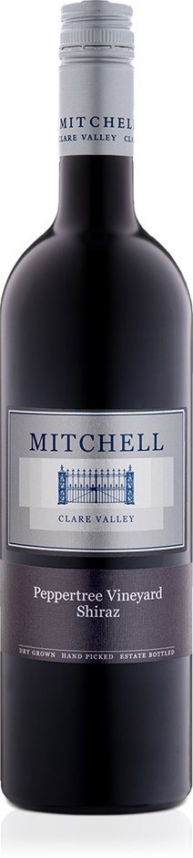 Mitchell Pepper Tree Shiraz 2015 (12 x 750mL) Clare Valley, SA