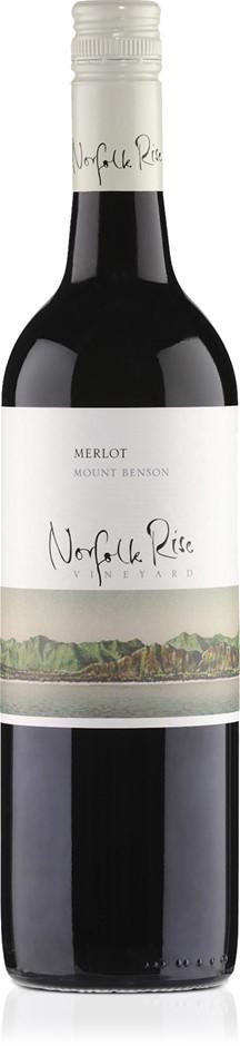 Norfolk Rise Merlot 2017 (12 x 750mL), Mt Benson, SA.