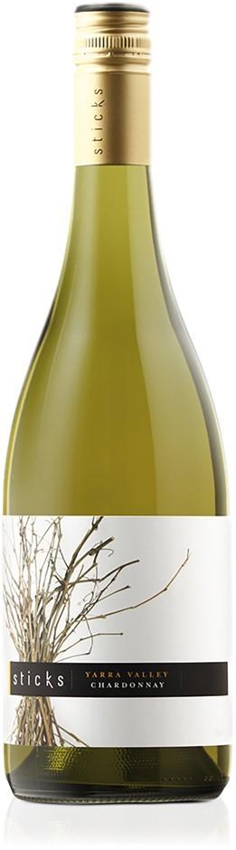 Sticks Chardonnay 2018 (6 x 750mL), Yarra Valley, VIC.