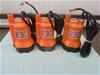 Qty 3 x Unused 12V Electric Bilge Pump