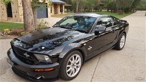 2009 Shelby GT 500 KR Manual Coupe