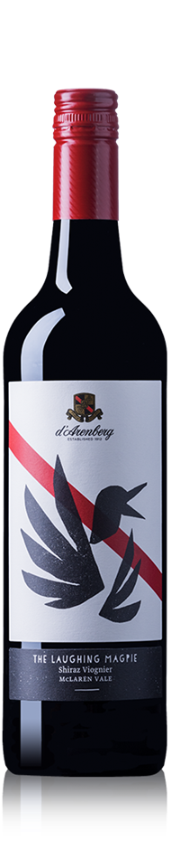 d'Arenberg The Laughing Magpie Shiraz Viognier 2016 (6x 750mL).