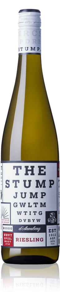 d'Arenberg The Stump Jump Riesling 2019 (12x 750mL). SA