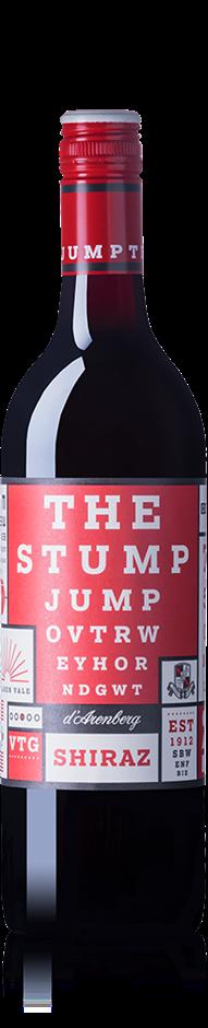 d'Arenberg The Stump Jump Shiraz 2017 (12x 750mL). SA